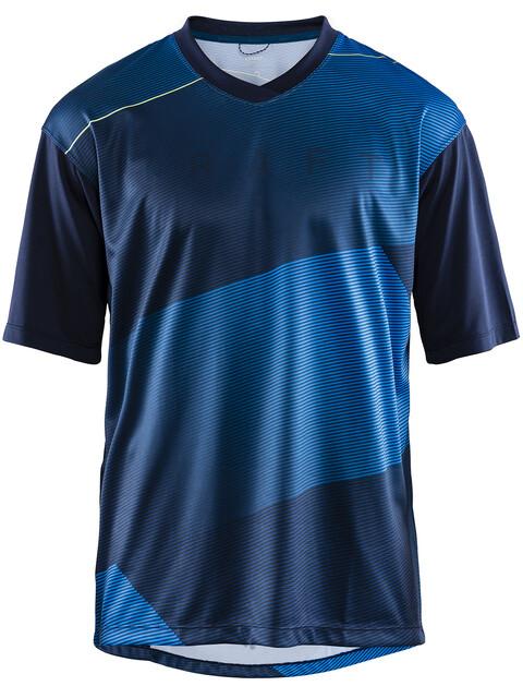 Craft Hale XT Fietsshirt korte mouwen Heren blauw